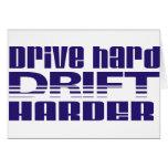 drive hard drift harder cards