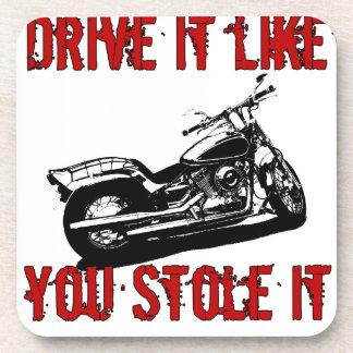 Drive it like you stole it - Bike/Chopper Drink Coaster