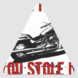 Drive it like you stole it - Bike/Chopper Triangle Sticker
