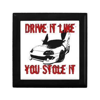 Drive it like you stole it - import race car trinket boxes