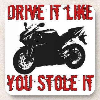 Drive it like you stole it - Japanese Bike Coaster