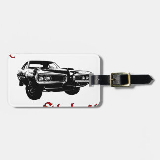 Drive it like you stole it - muscle car tag for bags