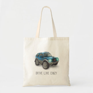 Drive like crazy - Bag - Template
