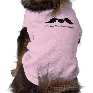 Drive My Human Batty Pet Clothing