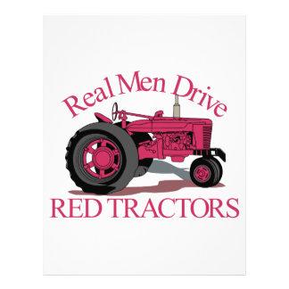 Drive Red Tractors Letterhead
