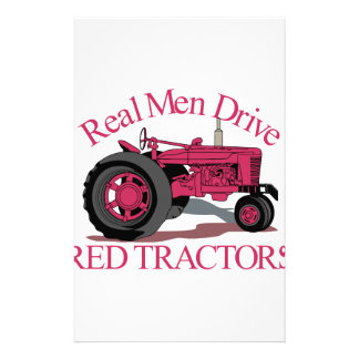 Drive Red Tractors Stationery
