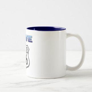 Drive Route 66 mug
