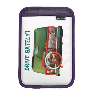Drive Safely! Nostalgic Toy Dashboard Pic Sleeve For iPad Mini