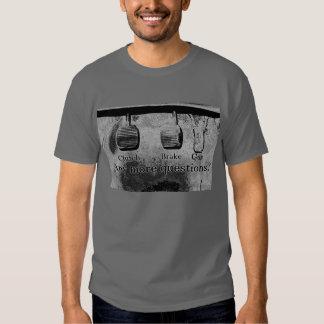 Drive Stick (black and white) T-Shirt
