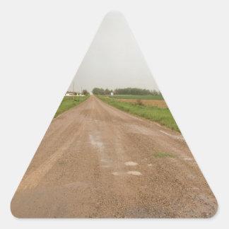 Drive Through A County Rainbow Triangle Sticker