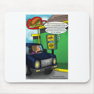 Drive Thru Metaphysics Funny Tees & Gifts Mouse Pad