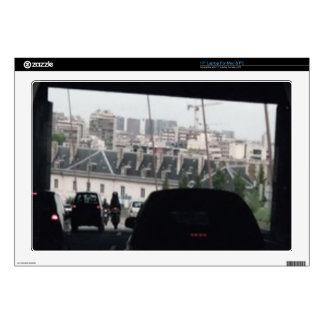 "Drive under the bridge  Elegant BNW Gifts 17"" Laptop Decal"