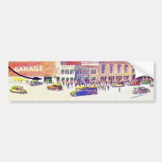 Drive Your Car Right Into Hotel Sherman Garage Bumper Sticker
