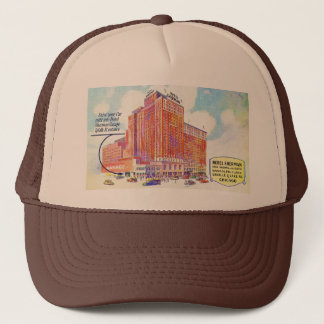 Drive Your Car Right Into Hotel Sherman Garage Trucker Hat