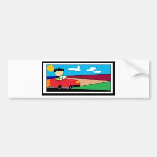 Driveout Car Bumper Sticker