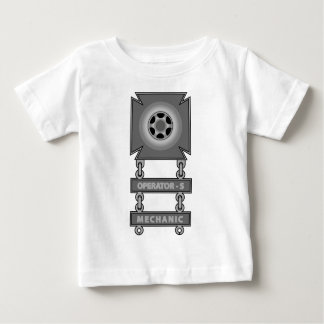 Driver Badge With Operator 'S' and Mechanic Bars Baby T-Shirt