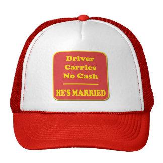 Driver Carries No Cash Trucker Hat