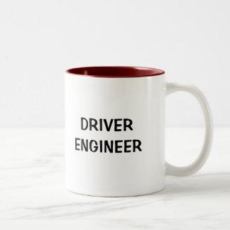 DRIVER/ENGINEER MUG