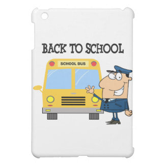 Driver In Front of School Bus Case For The iPad Mini