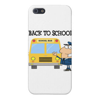 Driver In Front of School Bus Cover For iPhone SE/5/5s