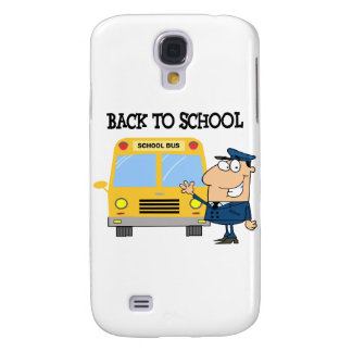 Driver In Front of School Bus Samsung Galaxy S4 Cover