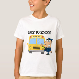 Driver In Front of School Bus T-Shirt