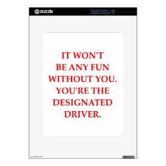 DRIVER iPad DECAL