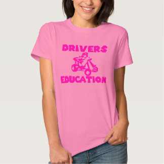 Drivers Education Princess T-shirt
