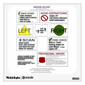 Drivers Helper - Teach Drivers Ed Info and Tips Wall Decor