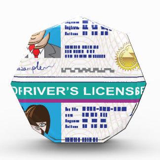 Driver's License Acrylic Award
