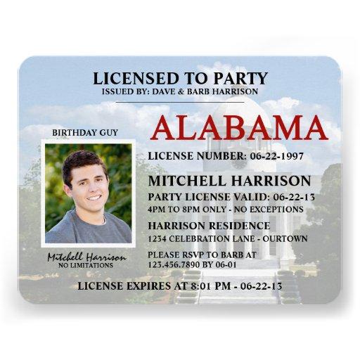 Alabama State Driver License Renewal