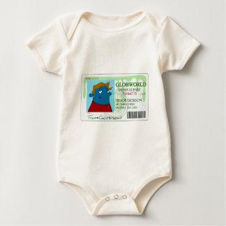 Drivers License Baby Bodysuit
