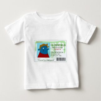 Drivers License Baby T-Shirt