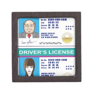 Driver's License Gift Box