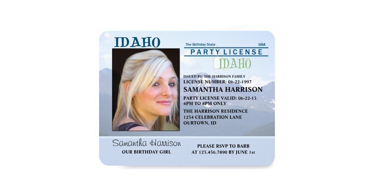 New Idaho Drivers License Design