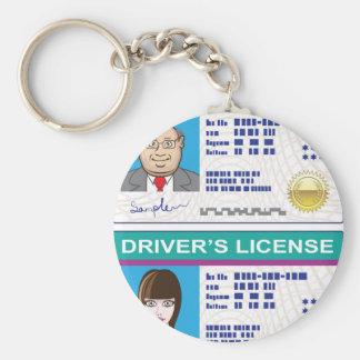 Driver's License Keychain