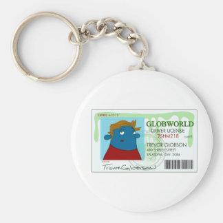 Drivers License Keychain