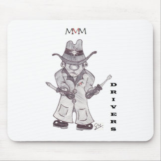 Drivers the Cowboy Mouse Pad