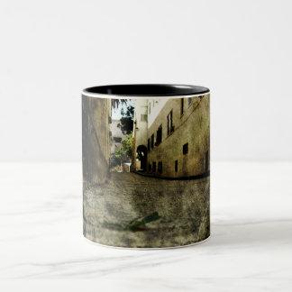 Driveway 2 Two-Tone coffee mug