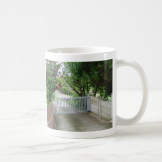 Driveway Gate Coffee Mug