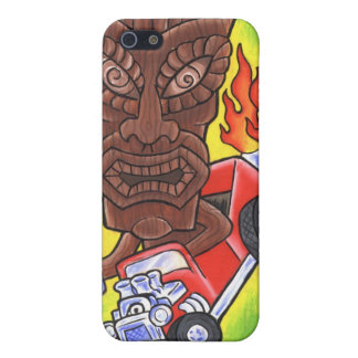 Drivin Tikis#1 for I-Phone 4 Case For iPhone SE/5/5s