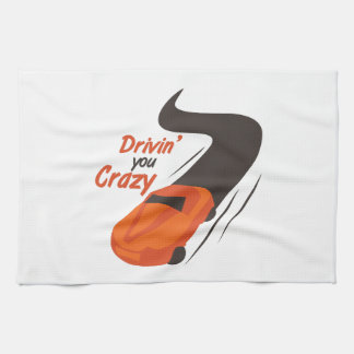 Drivin' You Crazy Kitchen Towel
