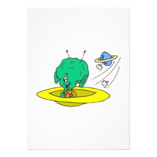 Driving Alien Invitation