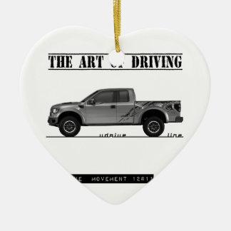 Driving Art Pickup Truck Ornament