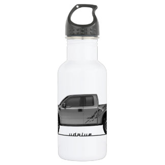 Driving Art Pickup Truck Water Bottle