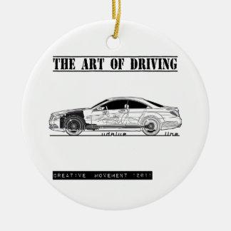 Driving Art Sedan Car Ornament