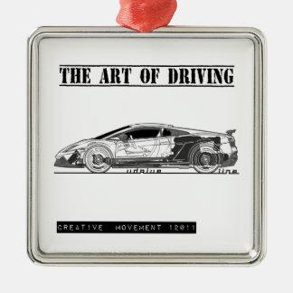 Driving Art Sports Car Ornaments