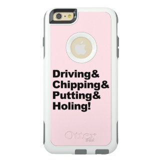 Driving&Chipping&Putting&Holing (blk) OtterBox iPhone 6/6s Plus Case