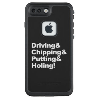 Driving&Chipping&Putting&Holing (wht) LifeProof FRĒ iPhone 7 Plus Case