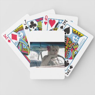 Driving Doris Bicycle Playing Cards